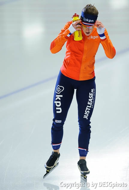 Ireen Wüst; Tags: Sport, NED, Netherlands, Niederlande, Holland, Dutch, Ireen Wüst, Eisschnelllauf, Speed skating, Schaatsen, Damen, Ladies, Frau, Mesdames, Female, Women, Athlet, Athlete, Sportler, Wettkämpfer, Sportsman; PhotoID: 2017-01-29-0583