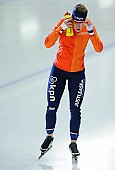 Subject: Ireen Wüst; Tags: Sport, NED, Netherlands, Niederlande, Holland, Dutch, Ireen Wüst, Eisschnelllauf, Speed skating, Schaatsen, Damen, Ladies, Frau, Mesdames, Female, Women, Athlet, Athlete, Sportler, Wettkämpfer, Sportsman; PhotoID: 2017-01-29-0583