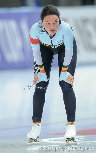 Jelena Peeters; Tags: Sport, Jelena Peeters, Eisschnelllauf, Speed skating, Schaatsen, Damen, Ladies, Frau, Mesdames, Female, Women, BEL, Belgium, Belgien, Athlet, Athlete, Sportler, Wettkämpfer, Sportsman; PhotoID: 2017-01-29-0592