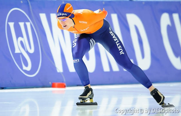 Ireen Wüst; Tags: Sport, NED, Netherlands, Niederlande, Holland, Dutch, Ireen Wüst, Eisschnelllauf, Speed skating, Schaatsen, Damen, Ladies, Frau, Mesdames, Female, Women, Athlet, Athlete, Sportler, Wettkämpfer, Sportsman; PhotoID: 2017-01-29-0613
