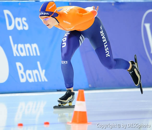 Ireen Wüst; Tags: Sport, NED, Netherlands, Niederlande, Holland, Dutch, Ireen Wüst, Eisschnelllauf, Speed skating, Schaatsen, Damen, Ladies, Frau, Mesdames, Female, Women, Athlet, Athlete, Sportler, Wettkämpfer, Sportsman; PhotoID: 2017-01-29-0614