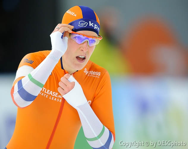 Ireen Wüst; Tags: Sport, NED, Netherlands, Niederlande, Holland, Dutch, Ireen Wüst, Eisschnelllauf, Speed skating, Schaatsen, Damen, Ladies, Frau, Mesdames, Female, Women, Athlet, Athlete, Sportler, Wettkämpfer, Sportsman; PhotoID: 2017-01-29-0617