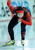 Subject: Huawei Li; Tags: Sport, Huawei Li, Eisschnelllauf, Speed skating, Schaatsen, Damen, Ladies, Frau, Mesdames, Female, Women, CHN, China, Volksrepublik China, Athlet, Athlete, Sportler, Wettkämpfer, Sportsman; PhotoID: 2017-02-11-0130
