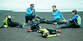 Subject: Robert Lehmann, Lukas Mann, Max Reder, Ole Jeske, Jeremias Marx, Paul Galczinsky; Tags: Training, Preparation, Ausbildung, Vorbereitung, Breeding, Education, Sport, Eisschnelllauf, Speed skating, Schaatsen, Detail; PhotoID: 2017-02-11-0935