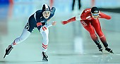 Subject: Ane By Farstad, Viktoria Schinnerl; Tags: AUT, Austria, Österreich, Ane By Farstad, Athlet, Athlete, Sportler, Wettkämpfer, Sportsman, Damen, Ladies, Frau, Mesdames, Female, Women, Eisschnelllauf, Speed skating, Schaatsen, NOR, Norway, Norwegen, Sport, Viktoria Schinnerl; PhotoID: 2017-02-12-0025
