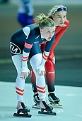Subject: Ane By Farstad, Viktoria Schinnerl; Tags: AUT, Austria, Österreich, Ane By Farstad, Athlet, Athlete, Sportler, Wettkämpfer, Sportsman, Damen, Ladies, Frau, Mesdames, Female, Women, Eisschnelllauf, Speed skating, Schaatsen, NOR, Norway, Norwegen, Sport, Viktoria Schinnerl; PhotoID: 2017-02-12-0028