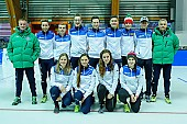 Tags: Sport, Gruppenfoto, Group shot, Gruppe, Gruppenbild, Gruppenaufnahme, Group photo, Eisschnelllauf, Speed skating, Schaatsen, Detail; PhotoID: 2017-02-12-0736