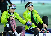 Subject: Bente Pflug, Gabriele Hirschbichler; Tags: Athlet, Athlete, Sportler, Wettkämpfer, Sportsman, Bente Kraus, Damen, Ladies, Frau, Mesdames, Female, Women, Eisschnelllauf, Speed skating, Schaatsen, GER, Germany, Deutschland, Gabriele Hirschbichler, Sport; PhotoID: 2017-03-11-0026