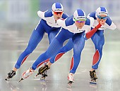 Subject: Elizaveta Kazelina, Natalia Voronina, Olga Graf; Tags: Athlet, Athlete, Sportler, Wettkämpfer, Sportsman, Damen, Ladies, Frau, Mesdames, Female, Women, Eisschnelllauf, Speed skating, Schaatsen, Jelizaveta Kazelina, Natalia Voronina, Olga Graf, RUS, Russian Federation, Russische Föderation, Russia, Sport; PhotoID: 2017-03-11-0269