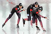 Subject: Bente Pflug, Gabriele Hirschbichler, Roxanne Dufter; Tags: Athlet, Athlete, Sportler, Wettkämpfer, Sportsman, Bente Kraus, Damen, Ladies, Frau, Mesdames, Female, Women, Eisschnelllauf, Speed skating, Schaatsen, GER, Germany, Deutschland, Gabriele Hirschbichler, Roxanne Dufter, Sport; PhotoID: 2017-03-11-0273