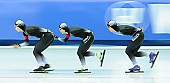 Subject: Miho Takagi, Misaki Oshigiri, Nana Takagi; Tags: Misaki Oshigiri, Miho Takagi, JPN, Japan, Nippon, Feature, Feature, Eisschnelllauf, Speed skating, Schaatsen, Detail, Damen, Ladies, Frau, Mesdames, Female, Women, Athlet, Athlete, Sportler, Wettkämpfer, Sportsman, Nana Takagi, Sport; PhotoID: 2017-03-11-0287