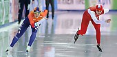 Subject: Natalia Czerwonka, Sanneke de Neeling; Tags: Athlet, Athlete, Sportler, Wettkämpfer, Sportsman, Damen, Ladies, Frau, Mesdames, Female, Women, Eisschnelllauf, Speed skating, Schaatsen, NED, Netherlands, Niederlande, Holland, Dutch, Natalia Czerwonka, POL, Poland, Polen, Sanneke de Neeling, Sport; PhotoID: 2017-03-11-0367