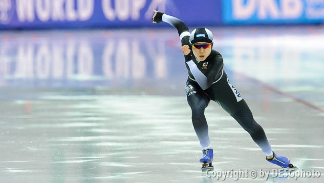 Miho Takagi; Tags: Athlet, Athlete, Sportler, Wettkämpfer, Sportsman, Damen, Ladies, Frau, Mesdames, Female, Women, Eisschnelllauf, Speed skating, Schaatsen, JPN, Japan, Nippon, Miho Takagi, Sport; PhotoID: 2017-03-11-0431