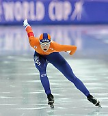 Subject: Marrit Leenstra; Tags: Athlet, Athlete, Sportler, Wettkämpfer, Sportsman, Damen, Ladies, Frau, Mesdames, Female, Women, Eisschnelllauf, Speed skating, Schaatsen, Marrit Leenstra, NED, Netherlands, Niederlande, Holland, Dutch, Sport; PhotoID: 2017-03-11-0463