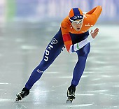 Subject: Marrit Leenstra; Tags: Athlet, Athlete, Sportler, Wettkämpfer, Sportsman, Damen, Ladies, Frau, Mesdames, Female, Women, Eisschnelllauf, Speed skating, Schaatsen, Marrit Leenstra, NED, Netherlands, Niederlande, Holland, Dutch, Sport; PhotoID: 2017-03-11-0464