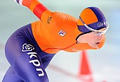 Subject: Marrit Leenstra; Tags: Athlet, Athlete, Sportler, Wettkämpfer, Sportsman, Damen, Ladies, Frau, Mesdames, Female, Women, Eisschnelllauf, Speed skating, Schaatsen, Marrit Leenstra, NED, Netherlands, Niederlande, Holland, Dutch, Sport; PhotoID: 2017-03-11-0466