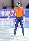 Subject: Kjeld Nuis; Tags: Athlet, Athlete, Sportler, Wettkämpfer, Sportsman, Eisschnelllauf, Speed skating, Schaatsen, Herren, Men, Gentlemen, Mann, Männer, Gents, Sirs, Mister, Kjeld Nuis, NED, Netherlands, Niederlande, Holland, Dutch, Sport; PhotoID: 2017-03-11-0575