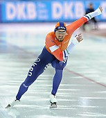 Subject: Kjeld Nuis; Tags: Athlet, Athlete, Sportler, Wettkämpfer, Sportsman, Eisschnelllauf, Speed skating, Schaatsen, Herren, Men, Gentlemen, Mann, Männer, Gents, Sirs, Mister, Kjeld Nuis, NED, Netherlands, Niederlande, Holland, Dutch, Sport; PhotoID: 2017-03-11-0585
