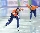 Subject: Kjeld Nuis; Tags: Athlet, Athlete, Sportler, Wettkämpfer, Sportsman, Eisschnelllauf, Speed skating, Schaatsen, Herren, Men, Gentlemen, Mann, Männer, Gents, Sirs, Mister, Kjeld Nuis, NED, Netherlands, Niederlande, Holland, Dutch, Sport; PhotoID: 2017-03-11-0591