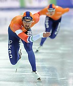 Subject: Kjeld Nuis; Tags: Athlet, Athlete, Sportler, Wettkämpfer, Sportsman, Eisschnelllauf, Speed skating, Schaatsen, Herren, Men, Gentlemen, Mann, Männer, Gents, Sirs, Mister, Kjeld Nuis, NED, Netherlands, Niederlande, Holland, Dutch, Sport; PhotoID: 2017-03-11-0592