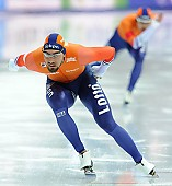 Subject: Kjeld Nuis; Tags: Athlet, Athlete, Sportler, Wettkämpfer, Sportsman, Eisschnelllauf, Speed skating, Schaatsen, Herren, Men, Gentlemen, Mann, Männer, Gents, Sirs, Mister, Kjeld Nuis, NED, Netherlands, Niederlande, Holland, Dutch, Sport; PhotoID: 2017-03-11-0593