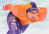 Subject: Kjeld Nuis; Tags: Athlet, Athlete, Sportler, Wettkämpfer, Sportsman, Eisschnelllauf, Speed skating, Schaatsen, Herren, Men, Gentlemen, Mann, Männer, Gents, Sirs, Mister, Kjeld Nuis, NED, Netherlands, Niederlande, Holland, Dutch, Sport; PhotoID: 2017-03-11-0596