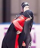 Subject: Ida Njåtun, Roxanne Dufter; Tags: Athlet, Athlete, Sportler, Wettkämpfer, Sportsman, Damen, Ladies, Frau, Mesdames, Female, Women, Eisschnelllauf, Speed skating, Schaatsen, GER, Germany, Deutschland, Ida Njåtun, NOR, Norway, Norwegen, Roxanne Dufter, Sport; PhotoID: 2017-03-12-0099