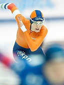 Subject: Marrit Leenstra; Tags: Athlet, Athlete, Sportler, Wettkämpfer, Sportsman, Damen, Ladies, Frau, Mesdames, Female, Women, Eisschnelllauf, Speed skating, Schaatsen, Marrit Leenstra, NED, Netherlands, Niederlande, Holland, Dutch, Sport; PhotoID: 2017-03-12-0174