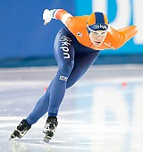 Subject: Marrit Leenstra; Tags: Athlet, Athlete, Sportler, Wettkämpfer, Sportsman, Damen, Ladies, Frau, Mesdames, Female, Women, Eisschnelllauf, Speed skating, Schaatsen, Marrit Leenstra, NED, Netherlands, Niederlande, Holland, Dutch, Sport; PhotoID: 2017-03-12-0175