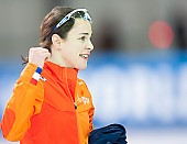 Subject: Marrit Leenstra; Tags: Athlet, Athlete, Sportler, Wettkämpfer, Sportsman, Damen, Ladies, Frau, Mesdames, Female, Women, Eisschnelllauf, Speed skating, Schaatsen, Marrit Leenstra, NED, Netherlands, Niederlande, Holland, Dutch, Sport; PhotoID: 2017-03-12-0188