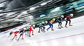 Tags: Mass Start, Feature, Feature, Eisschnelllauf, Speed skating, Schaatsen, Detail, Sport; PhotoID: 2017-03-12-0372