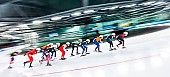 Tags: Mass Start, Feature, Feature, Eisschnelllauf, Speed skating, Schaatsen, Detail, Sport; PhotoID: 2017-03-12-0373