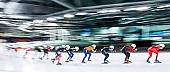 Tags: Mass Start, Feature, Feature, Eisschnelllauf, Speed skating, Schaatsen, Detail, Sport; PhotoID: 2017-03-12-0375