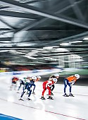 Tags: Mass Start, Feature, Feature, Eisschnelllauf, Speed skating, Schaatsen, Detail, Sport; PhotoID: 2017-03-12-0388