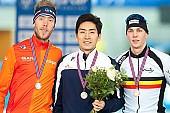 Subject: Bart Swings, Jorrit Bergsma, Seung-Hoon.88 Lee; Tags: Athlet, Athlete, Sportler, Wettkämpfer, Sportsman, BEL, Belgium, Belgien, Bart Swings, Eisschnelllauf, Speed skating, Schaatsen, Herren, Men, Gentlemen, Mann, Männer, Gents, Sirs, Mister, Jorrit Bergsma, KOR, South Korea, Südkorea, NED, Netherlands, Niederlande, Holland, Dutch, Seung-Hoon Lee, Sport; PhotoID: 2017-03-12-0434