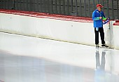 Subject: Uwe-Michael Hüttenrauch; Tags: Uwe-Michael Hüttenrauch, Trainer, Coach, Betreuer, Sport, GER, Germany, Deutschland, Eisschnelllauf, Speed skating, Schaatsen; PhotoID: 2017-10-27-0058