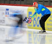 Subject: Uwe-Michael Hüttenrauch; Tags: Uwe-Michael Hüttenrauch, Trainer, Coach, Betreuer, Sport, GER, Germany, Deutschland, Feature, Feature, Eisschnelllauf, Speed skating, Schaatsen, Detail; PhotoID: 2017-10-27-0490