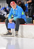 Subject: Uwe-Michael Hüttenrauch; Tags: Uwe-Michael Hüttenrauch, Trainer, Coach, Betreuer, Sport, GER, Germany, Deutschland, Eisschnelllauf, Speed skating, Schaatsen; PhotoID: 2017-10-27-0693