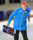 Subject: Uwe-Michael Hüttenrauch; Tags: Uwe-Michael Hüttenrauch, Trainer, Coach, Betreuer, Sport, GER, Germany, Deutschland, Eisschnelllauf, Speed skating, Schaatsen; PhotoID: 2017-10-27-0843