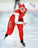 Subject: Kaja Gajewska; Tags: Athlet, Athlete, Sportler, Wettkämpfer, Sportsman, Damen, Ladies, Frau, Mesdames, Female, Women, Eisschnelllauf, Speed skating, Schaatsen, Kaja Gajewska, POL, Poland, Polen, Sport; PhotoID: 2017-11-25-0093