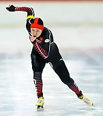 Subject: Huawei Li; Tags: Athlet, Athlete, Sportler, Wettkämpfer, Sportsman, CHN, China, Volksrepublik China, Damen, Ladies, Frau, Mesdames, Female, Women, Eisschnelllauf, Speed skating, Schaatsen, Huawei Li, Sport; PhotoID: 2017-11-25-0157