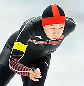 Subject: Huawei Li; Tags: Athlet, Athlete, Sportler, Wettkämpfer, Sportsman, CHN, China, Volksrepublik China, Damen, Ladies, Frau, Mesdames, Female, Women, Eisschnelllauf, Speed skating, Schaatsen, Huawei Li, Sport; PhotoID: 2017-11-25-0160