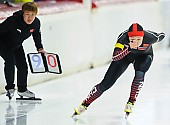 Subject: Huawei Li; Tags: Athlet, Athlete, Sportler, Wettkämpfer, Sportsman, CHN, China, Volksrepublik China, Damen, Ladies, Frau, Mesdames, Female, Women, Eisschnelllauf, Speed skating, Schaatsen, Huawei Li, Sport; PhotoID: 2017-11-25-0164