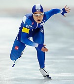 Subject: Min-Ji Kim; Tags: Athlet, Athlete, Sportler, Wettkämpfer, Sportsman, Damen, Ladies, Frau, Mesdames, Female, Women, Eisschnelllauf, Speed skating, Schaatsen, KOR, South Korea, Südkorea, Min Ji Kim, Sport; PhotoID: 2017-11-25-0207