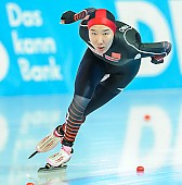Subject: Mei Han; Tags: Athlet, Athlete, Sportler, Wettkämpfer, Sportsman, CHN, China, Volksrepublik China, Damen, Ladies, Frau, Mesdames, Female, Women, Eisschnelllauf, Speed skating, Schaatsen, Mei Han, Sport; PhotoID: 2018-01-20-0188