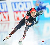 Subject: Mei Han; Tags: Athlet, Athlete, Sportler, Wettkämpfer, Sportsman, CHN, China, Volksrepublik China, Damen, Ladies, Frau, Mesdames, Female, Women, Eisschnelllauf, Speed skating, Schaatsen, Mei Han, Sport; PhotoID: 2018-01-20-0191