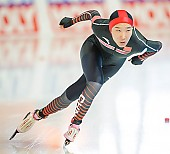 Subject: Mei Han; Tags: Athlet, Athlete, Sportler, Wettkämpfer, Sportsman, CHN, China, Volksrepublik China, Damen, Ladies, Frau, Mesdames, Female, Women, Eisschnelllauf, Speed skating, Schaatsen, Mei Han, Sport; PhotoID: 2018-01-20-0193