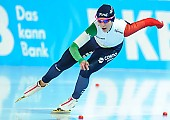 Subject: Francesca Bettrone; Tags: Athlet, Athlete, Sportler, Wettkämpfer, Sportsman, Damen, Ladies, Frau, Mesdames, Female, Women, Eisschnelllauf, Speed skating, Schaatsen, Francesca Bettrone, ITA, Italy, Italien, Sport; PhotoID: 2018-01-20-0219