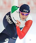 Subject: Francesca Bettrone; Tags: Athlet, Athlete, Sportler, Wettkämpfer, Sportsman, Damen, Ladies, Frau, Mesdames, Female, Women, Eisschnelllauf, Speed skating, Schaatsen, Francesca Bettrone, ITA, Italy, Italien, Sport; PhotoID: 2018-01-20-0222