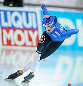 Subject: Saskia Alusalu; Tags: Athlet, Athlete, Sportler, Wettkämpfer, Sportsman, Damen, Ladies, Frau, Mesdames, Female, Women, EST, Estonia, Estland, Eisschnelllauf, Speed skating, Schaatsen, Saskia Alusalu, Sport; PhotoID: 2018-01-20-0225
